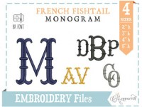 french-fishtail-embroidery-font-4sizes-bxfont