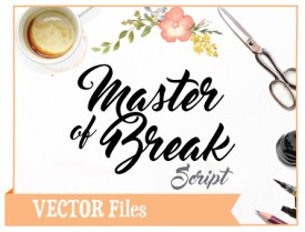 Master-of-Break-SVG-Font
